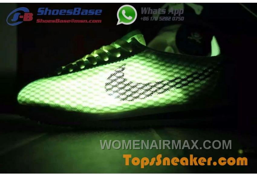 competitive price 16157 0329d Hot Sell Popular Womens Nike Cortez Mesh Yellow Black Jogging Shoes  Fashionable Online WyW4a3p