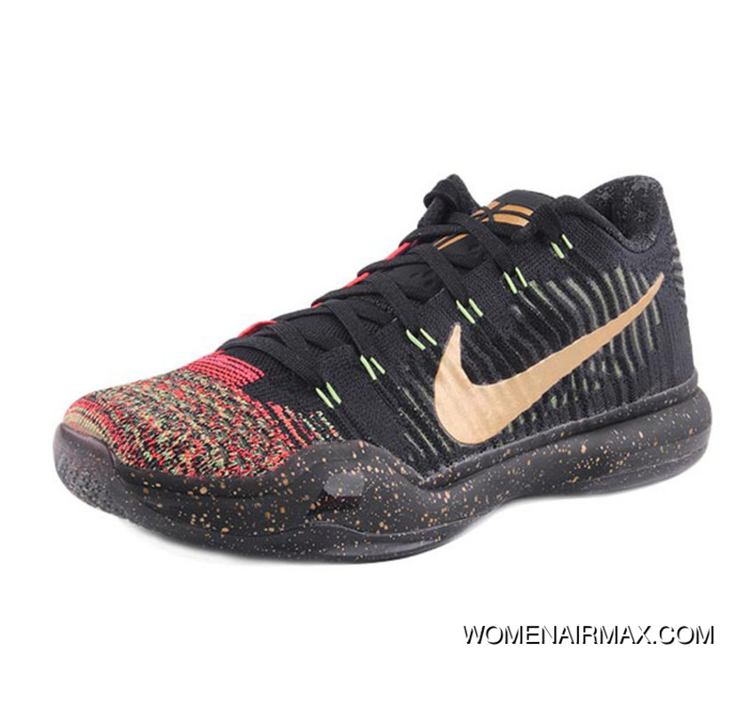 10 Elite Nike Kobe Low Is 10 Generations Christmas 802560-076 Super ...