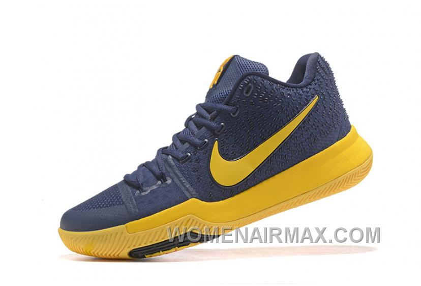 c52ff2a6c2b6 Nike Kyrie 3 Mens BasketBall Shoes Cavs Yellow New Release R8hYh8d ...