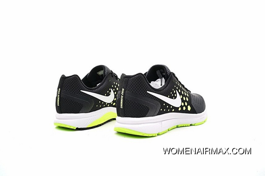 0fad2b034af9 Nike Air Zoom Span Shield Mens Running Shoes Carbon Grey Green 852437-007  New