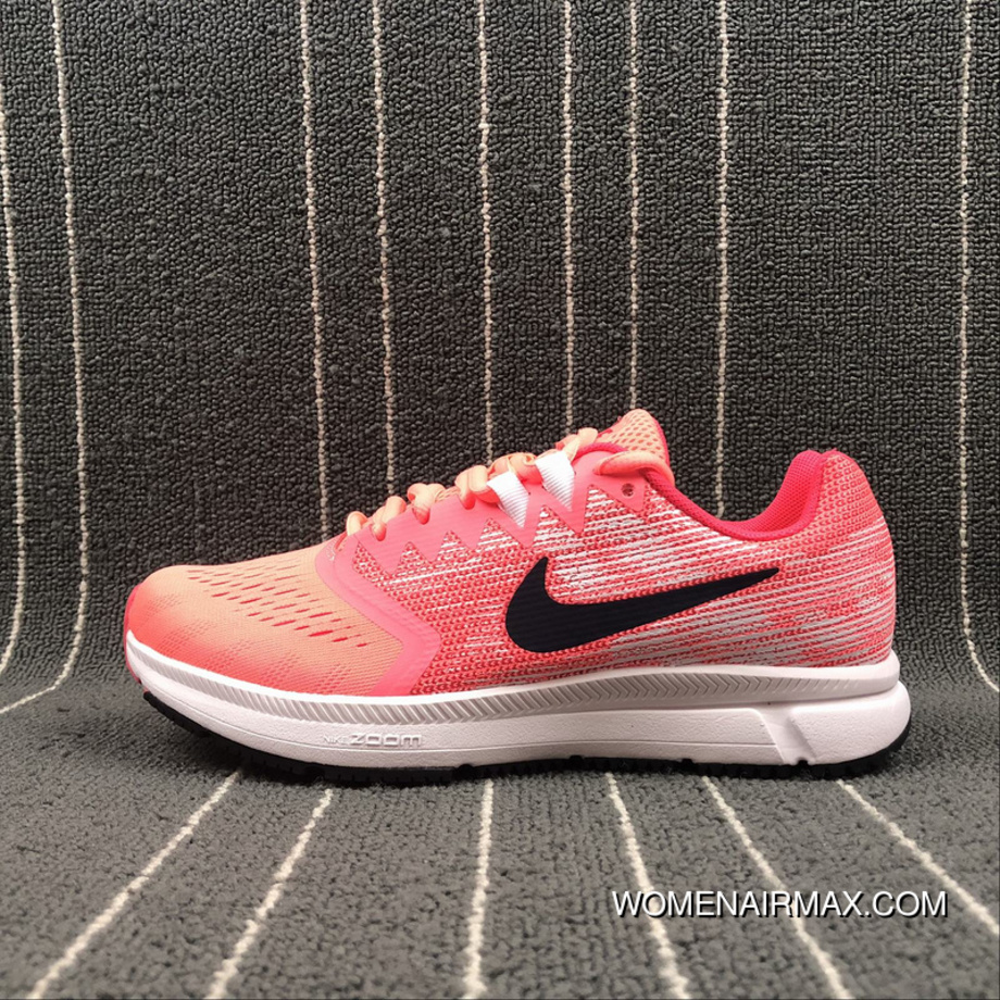 best sneakers f2735 6fe8e Nike Air Zoom Span 2 Breathable Cushioning Running Shoes 909007-600 Size  Top Deals
