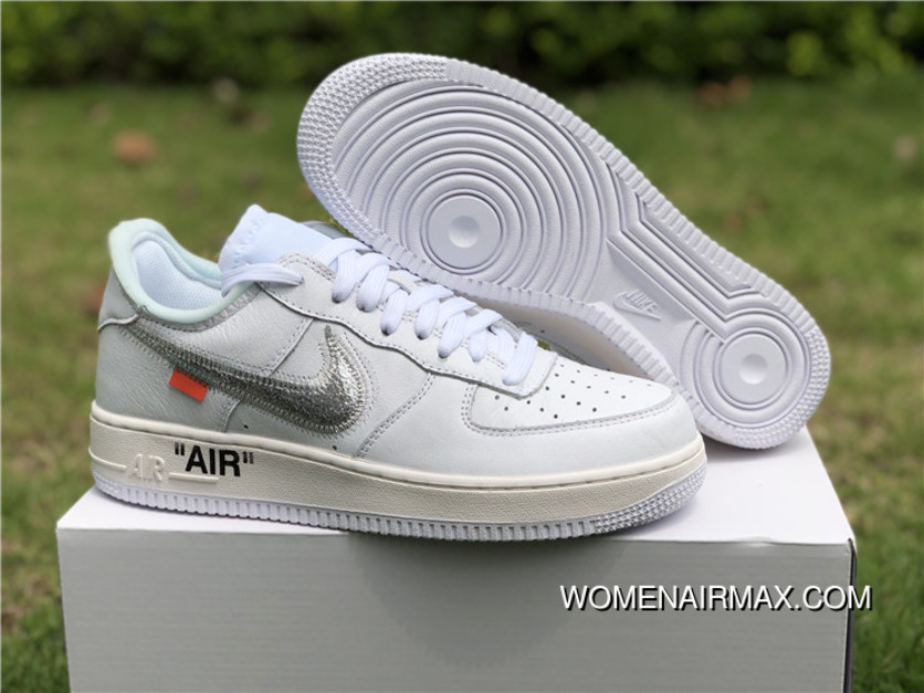 new concept ff46b 041fd 2018 Off-White X Nike Air Force 1 White Free Shipping