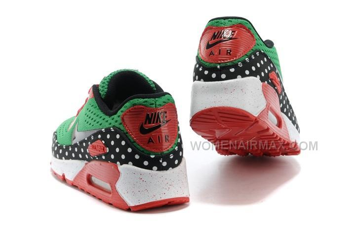 a3b473ba0a1348 Nike Air Max 90 EM Womens Shoes Dragon Green Red