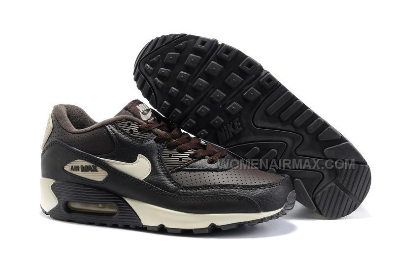 pretty nice 7b1ce 56a14 Nike Air Max 90 Womens Shoes Wholesale Black Beige, Price: $89.00 ...