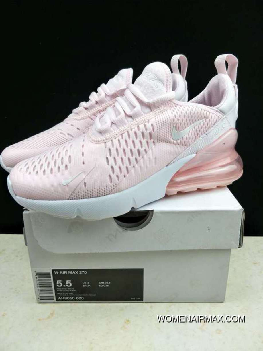 deb4ebd6b816 Entity Nike Air Max 270 Half-palm As Participants In Slow Running Shoes  Pink White