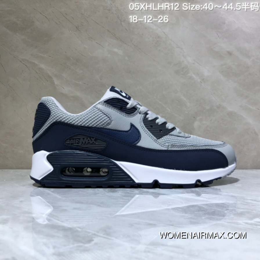finest selection c0354 f796b Nike WMNS Air Max 90 Essential Mesh Breathable Zoom Cushioning Running  Shoes 05Xhlhr12 Size 4044.5 18-12-26 Super Deals