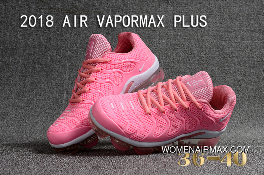 d2c6d6aa37a3e 2018 NIKE AIR VAPORMAX PLUS PLASTIC Nanotechnology New Technology  Environmental Protection Tasteless Full Zoom Running Shoes
